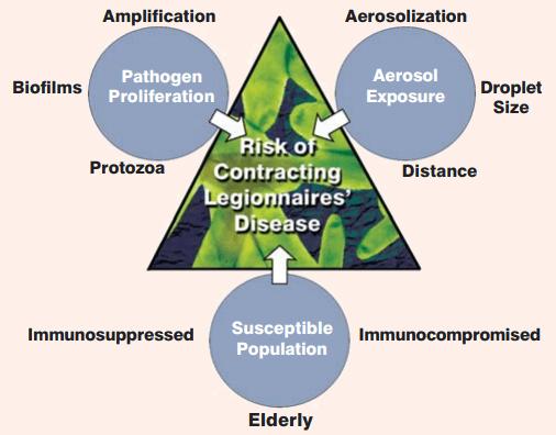 Factors affecting legionnaire's Risk